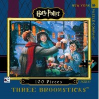 "Puzzle ""Three broomsticks - mini"" - New york puzzle company"