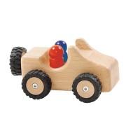 Jeep avec pneus en caoutchouc