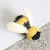 Kit de feutrage : broche abeille
