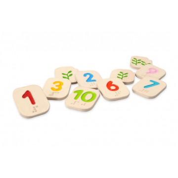 Apprendre les chiffres en braille