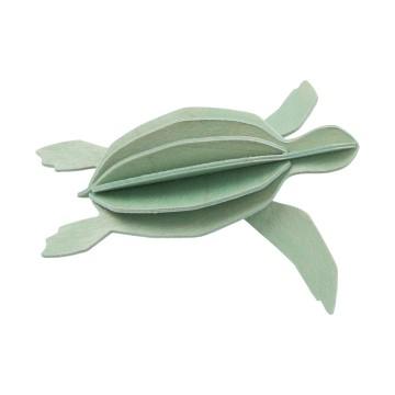 Tortue de mer vert clair - grand modèle