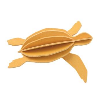 Tortue de mer jaune soleil - grand modèle