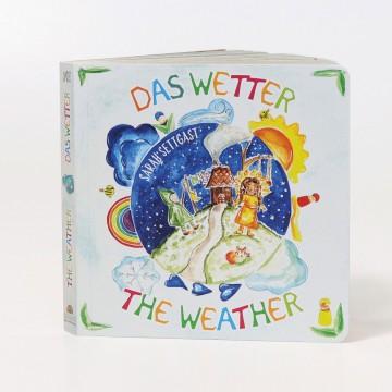 """Livre Grimm's """"la météo"""" anglais-allemand"""