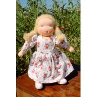 Poupée Waldorf 32 cm : fille cheveux blonds