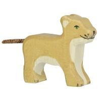 Lionceau, debout