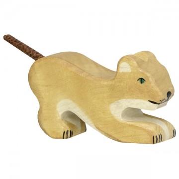 Lionceau, jouant