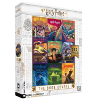 """Puzzle """" the book covers """" - New york puzzle company"""