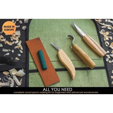 Kit complet Beavercraft : sculpter sur bois