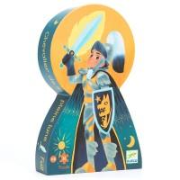 Puzzle silhouette : Le chevalier de la pleine Lune 36 pièces