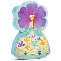 Puzzle silhouette : La princesse du printemps 36 pièces