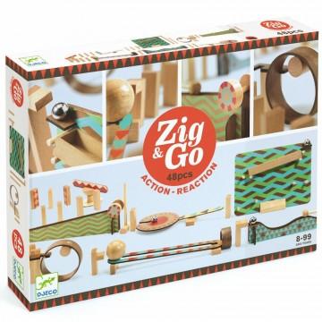 Circuit cause à effet : Zig and Go ! 48 pièces