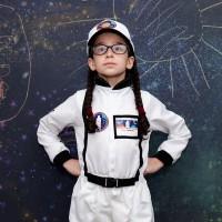 Déguisement astronaute avec accessoires : 5-7 ans