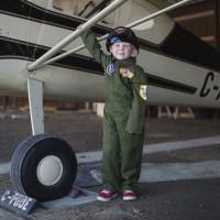 Déguisement pilote Airforce : 5-7 ans