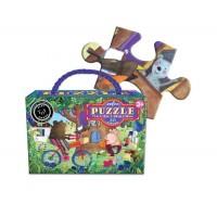 Puzzle 20 pièces - ours à vélo