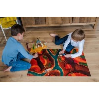"Tapis de jeu ""Canyon Adventure"" 90*60 cm"