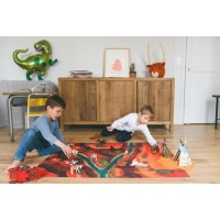"Tapis de jeu ""Canyon Adventure"" 120*90 cm"