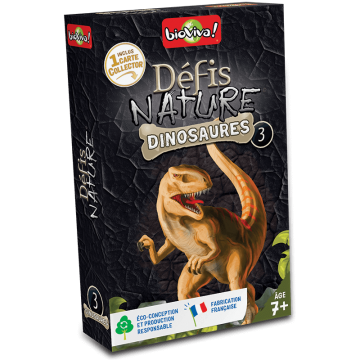 Défis Nature- Dinosaures 3