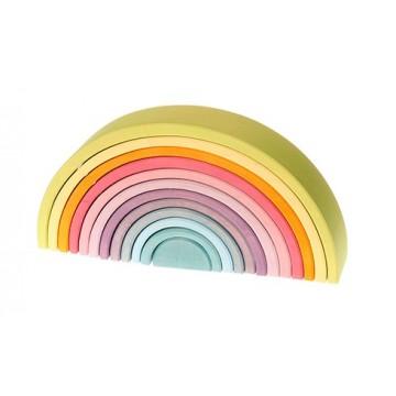 Grand arc en ciel 12 pièces - pastel