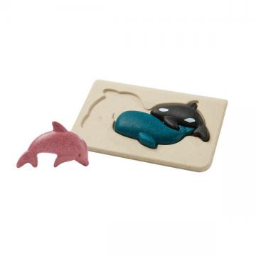 """Mon premier puzzle """"Animaux de la mer"""" Plan toys"""