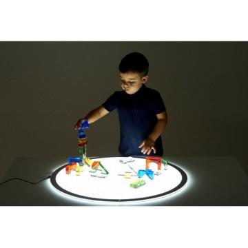 Panneau lumineux LED arrondi (70 cm de diamètre)