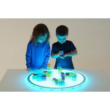 Panneau lumineux LED arrondi : 20 couleurs