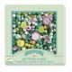 Perles en bois-feuilles et fleurs