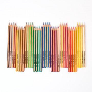 Crayons de couleur Lyra graduate 36 pièces-boîte métal