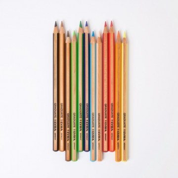 Crayons de couleur Lyra graduate 12 pièces