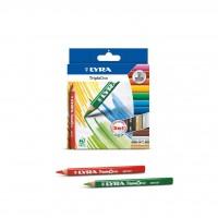 12 crayons de couleur Lyra Triple one