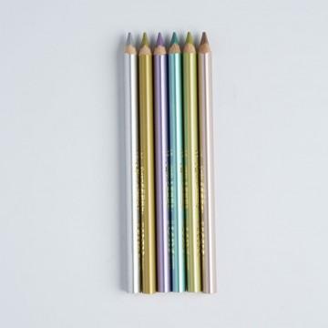 6 crayons de couleur Lyra Super Ferby Metallic