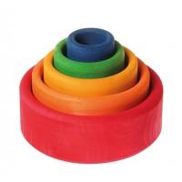 5 bols colorés