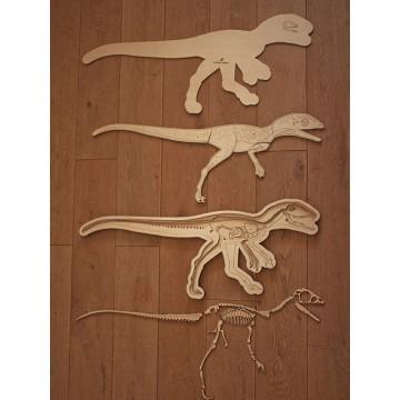 """Puzzle géant """"dinosaure"""""""