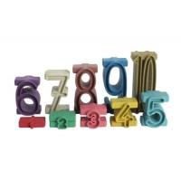 """Tour des nombres : couleurs """"Montessori"""""""