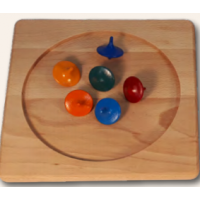 Spinning top board