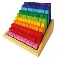 Escalier à construire en bois - 100 pièces Bauspiel