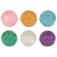Bouncing ball glitter