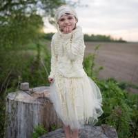 Costume de momie avec jupe : 3-5 ans