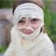 Costume de momie avec pantalon : 7-9 ans
