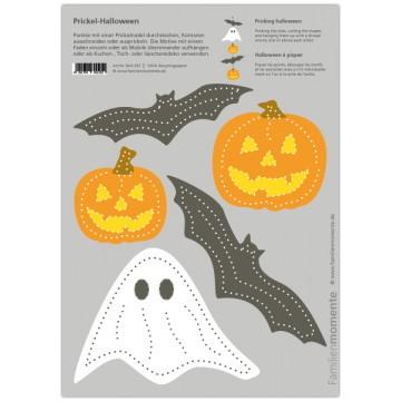 """Carte à poinçonner """"Halloween"""""""