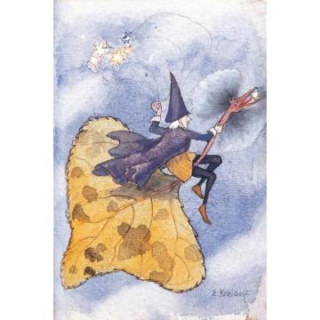 """Carte """"Feuille d'automne"""""""