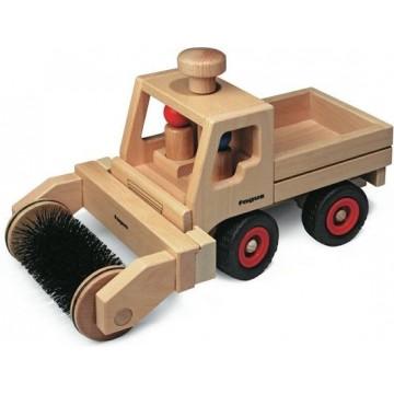 Brosse pour camion multifonction