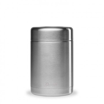 Boîte repas isotherme - inox brossé 340ml