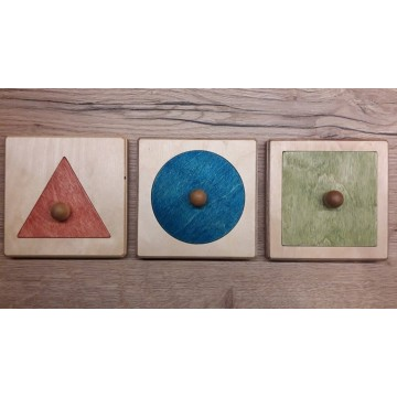 Encastrements : rond, triangle, carré