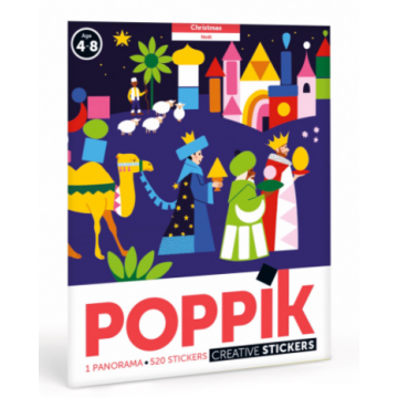 Poster + 520 stickers : Noël
