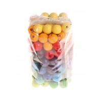 120 perles en bois 12 mm