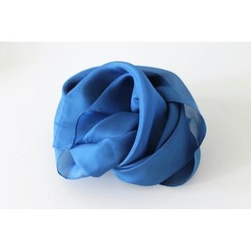 Mini carré de soie teint en Allemagne - tons vifs