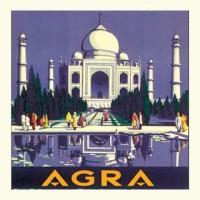 """Carte """"Agra"""""""
