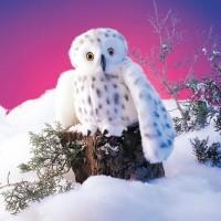 Marionnette harfang des neiges