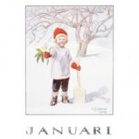 carte postale Janvier
