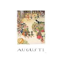 Carte postale Aout